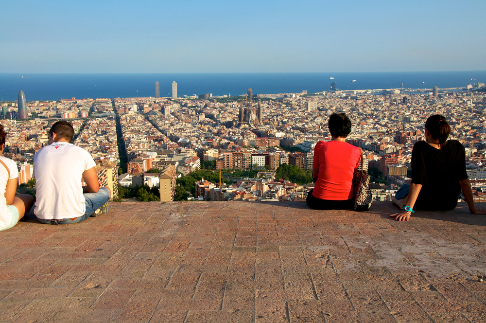 skyline-of-Barcelona